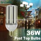 led street light SMD 36w LED e26 e39 base AC100-277V cold/warm white