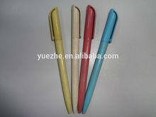 Biodegradable Corn plastic twist pen / Cheap pen /Promotion pen /Student writing pen