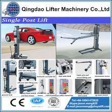 single post car lift