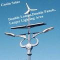 2013 наивысшей мощности kyocera солнечных батарей чипом osram ip65 лучший цена солнечный уличный свет