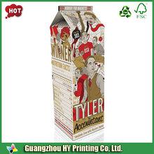 printed cardboard box for food packaging/food packaging box cup shape