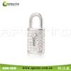 8gb Custom crystal lock wedding gift usb flash drive nice pen drive stick for nice present