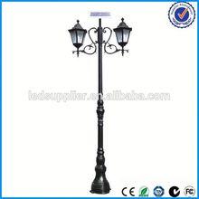 solar outdoor light ip65 12v standing solar lamp for garden