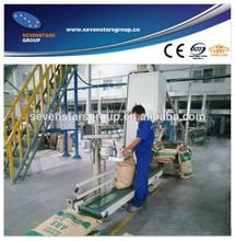 Plastic Pellet Weighing Packing Machine for plastic granules