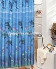 100% Polyester Ocean Bath Curtains Shower Stuff