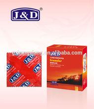 Extra lubricate funny condom ,good rubber condom,custom OEM condom flavors