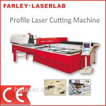 3m*1.5m fibra de perfil máquina de corte laser para o aço carbono e aço inoxidável