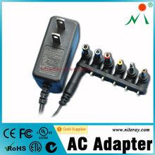25w international ac adapter with AU EU UK US plug