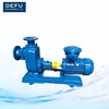 Self priming centrifugal oil pumps with generator