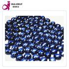 The Best Sales flat Oval Shape Tanzania Gemstone CZ Stone