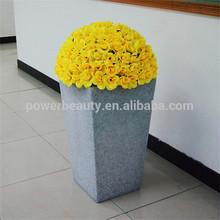 garden decoration/pot/planter/led marble flower pot