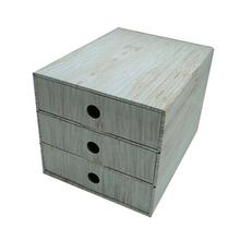 Cardboard folding drawer organizer
