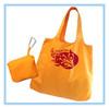 foldable black nylon tote bag,foldable custom bags,Foldable Nylon Bag with Zip Pouch