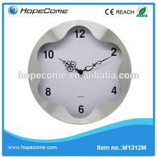 (M1312) 12 inch digital metal cuckoo bird wall clock for home decor