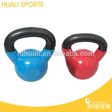 New design 16 kg vinyl kettlebell,hot Fitness & Bodybuilding Products