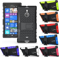 Heavy Duty Strong Silicone Cover For Nokia Lumia 1520 Tough Hard Case PC+TPU Shockproof