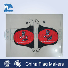 Display car mirror flag covers,custom logo car mirror flag, rearview car mirror cover flag