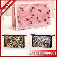 Make up Bag,Promotion nylon quilted fashion hanging toiletry travel bag organizer