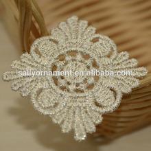 Fashionable hot sale Wholesale Mesh Embroidery lace applique patch