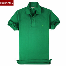 2014 Custom Colorful Different Colors Polo Shirt Designs Green Color