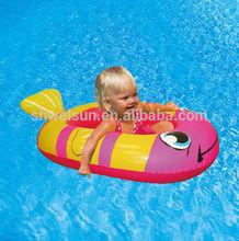 Pvc Inflatable Kids Boat In Pool Little Buddy Clownfish Raft
