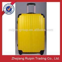 "New Design Yellow Four Wheels Super Light travel luggage 20"""