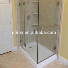 Fiberglass wet room shower tray,fiber glass reinforced shower base