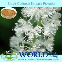 100% Natural Black Cohosh Extract Powder/Black Cohosh P.E, Black Cohosh Extract Low Price