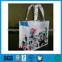 Supply durable non-woven shopping bag,nonwovens leisure bag,polyester drawstring laundry bag