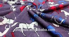 Latest new garment/dress horse design 100% cotton Printed Knitting Fabric for garment,Dress