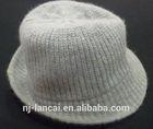 2014 Fashion Knit Grey Gentleman Hat