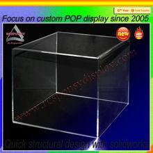 large acrylic display cube