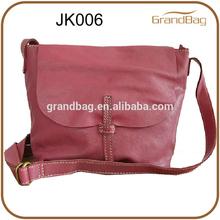 2014 new design women adjustable strap leather cross body bag shoulder bag