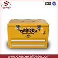 Gabinete 25L, caja de herramientas de coche de metal,nevera portátil de cerveza con estilo,caja de refrigeración (C-008)