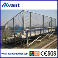 Anly retractable basketball bleachers,portable grandstand