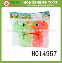 2014 Alibaba China hot sale cheap water guns funny animal shape water gun toys summer toys H014957