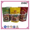 plastic falafel / sausage food packaging bag