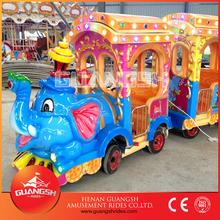Most popular! Professional kids amusement park electric trains for sale