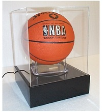 acrylic basketball display cabinet