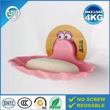 travel soap dish wall stick plastic soap dish