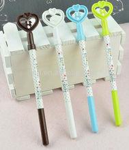 New Cute cartoon pen Heart-shaped couples pen Doraemon ink pen