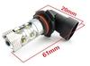 2014 auto lamp good quality canbus led canceller leds t10