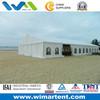 15mX25m Large White PVC Aluminum Tent On The Beach