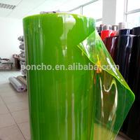 colorful transparent plastic films