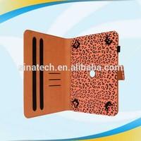 new promotion stand pu sleeve for ipad mini retina display