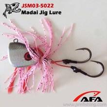 150g/200g/250g Skirt vertical artificial lures Madai jig lead fish JSM03-5022