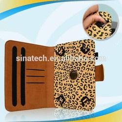 Hotting design pu for ipad mini cases folding smart