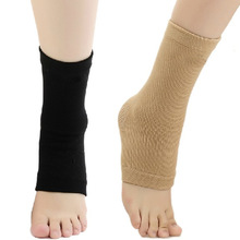 Four-way pull knitting elastic ankle support brace