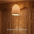 colgante de la lámpara de bambú ratán lámparas
