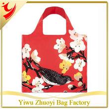 Cherry Print Reusable Bag Easy Carry Folding Bag